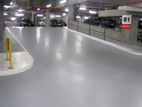 aquepoxy environmentally safe concrete floor sealer slip resistance